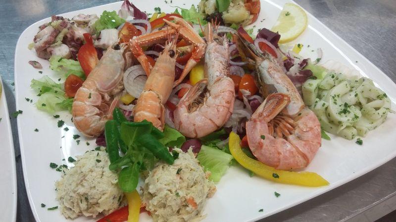 occasione cena ristorante di pesce con menu fisso a padova cittadella e campodarsego offerte