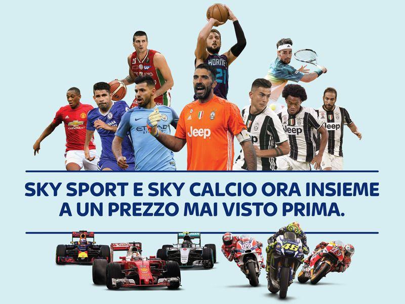 Promozione  Sky Sport - Offerta Sky Calcio - Occasione abbonamento calcio - Il Satellite Store
