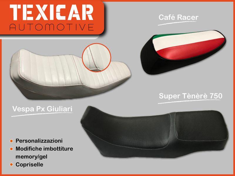 offerta sella su misura moto tappezzeria Vicenza - occasione rivestimento interni auto e moto