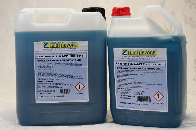 vendita offerta additivo liquido a base alcolica azione brillante autoasciugante per stoviglie