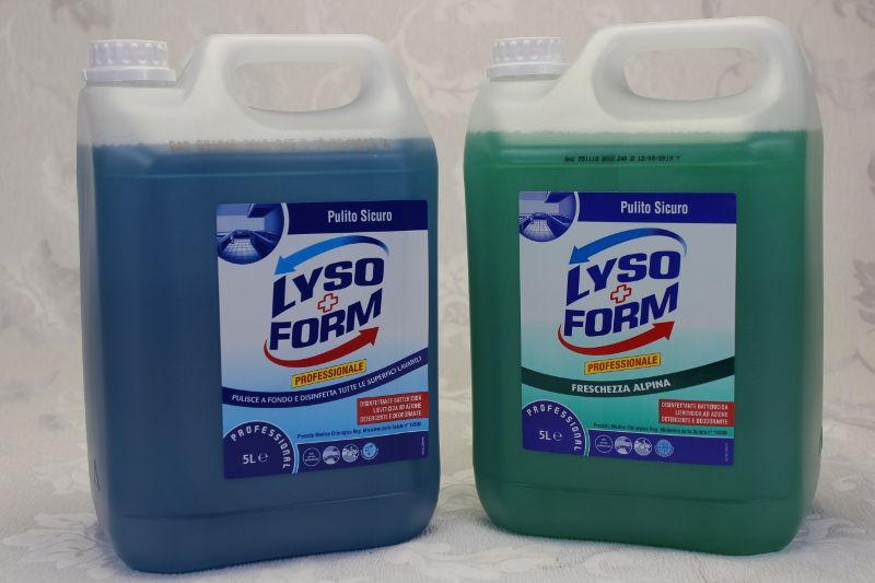 vendita offerta disinfettante azione detergente e deodorante disinfezione superfici pavimenti