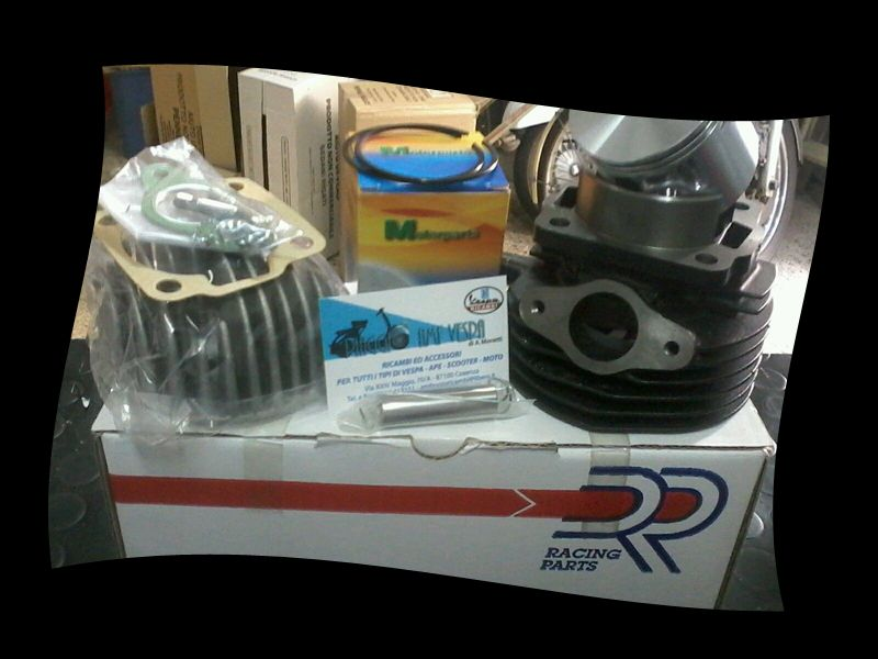 promozione offerta occasione kit modifica cilindro e pistone vespa 50 special cosenza