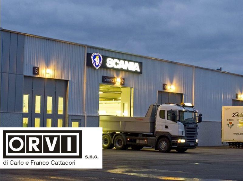Offerta assistenza camion - Promozione servizi Scania - Orvi