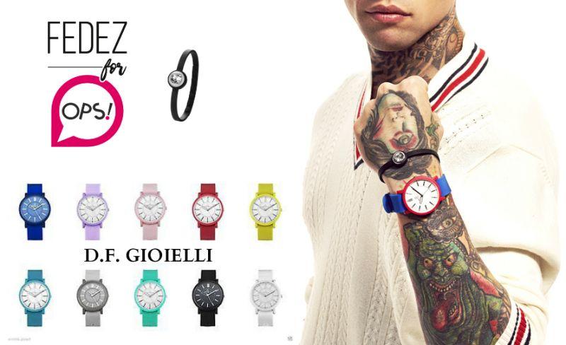 offerta orologio ops object posh - occasione bracciale ops gem omaggio - df gioielli