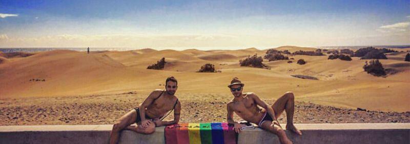 Angebot Übernachtung und Frühstück Hotel Resort Wohnungen Schwule Village Gay Gran Canaria