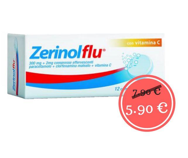 promo zerinol flu offerta zerinolflu vitamina c