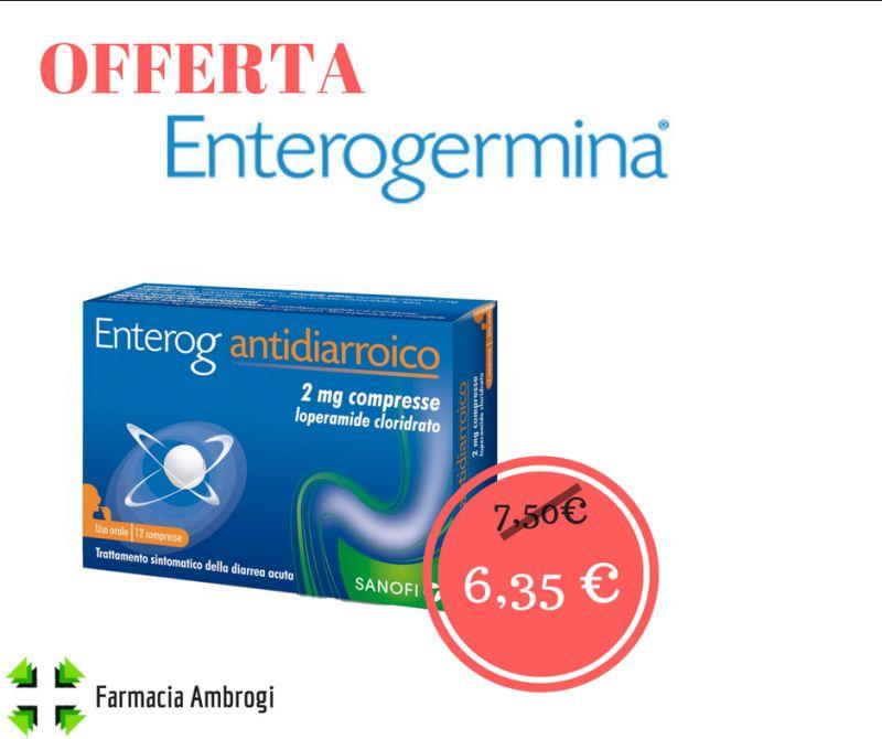 offerta sconto enterogermina antidiarroico viaggI