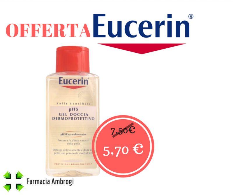 offerta gel doccia ph5 eucerin bagnoschiuma famiglia viaggio