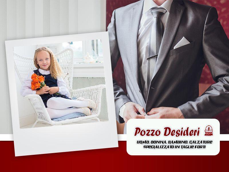 Offerta Abiti Cerimonia Bambino - Promozione Vestiti Cerimonia Uomo Donna - Pozzo Desideri