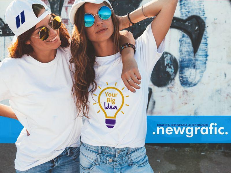 offerta stampa serigrafica tshirt cappelli - stampe personalizzate gadget abbigliamento