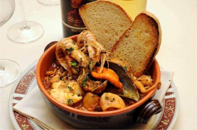 Promozione cena di pesce a Pistoia