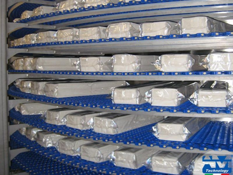 Progettazione e realizzazione impianti di surgelazione con scambio termico - AM Technology