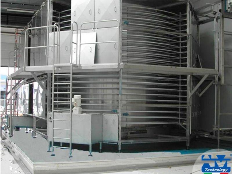 Realizzazione impianti di pastorizzazione e sterilizzazione settore alimentare - AM Technology