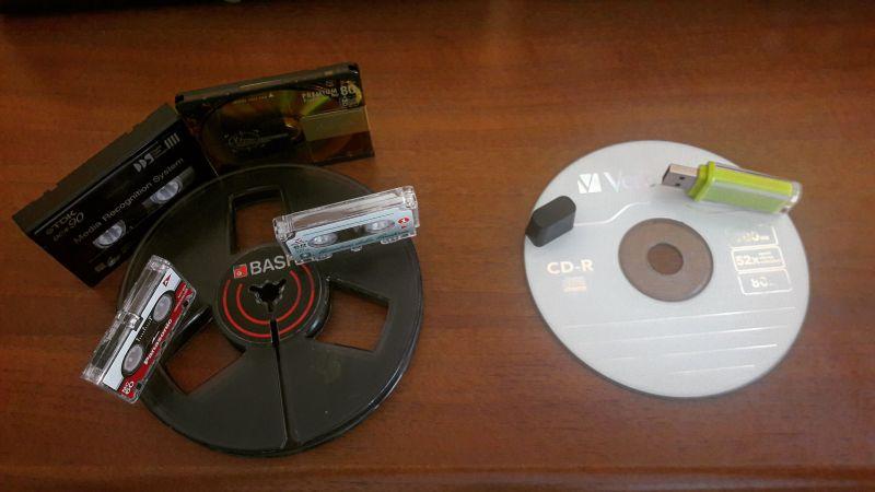 Conversione di registrazioni da analogico a digitale