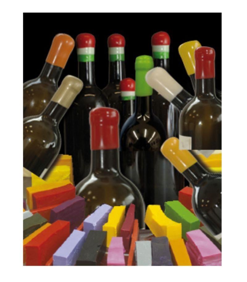Offerta - Promozione - Gommalacca per capsule bottiglie Siena