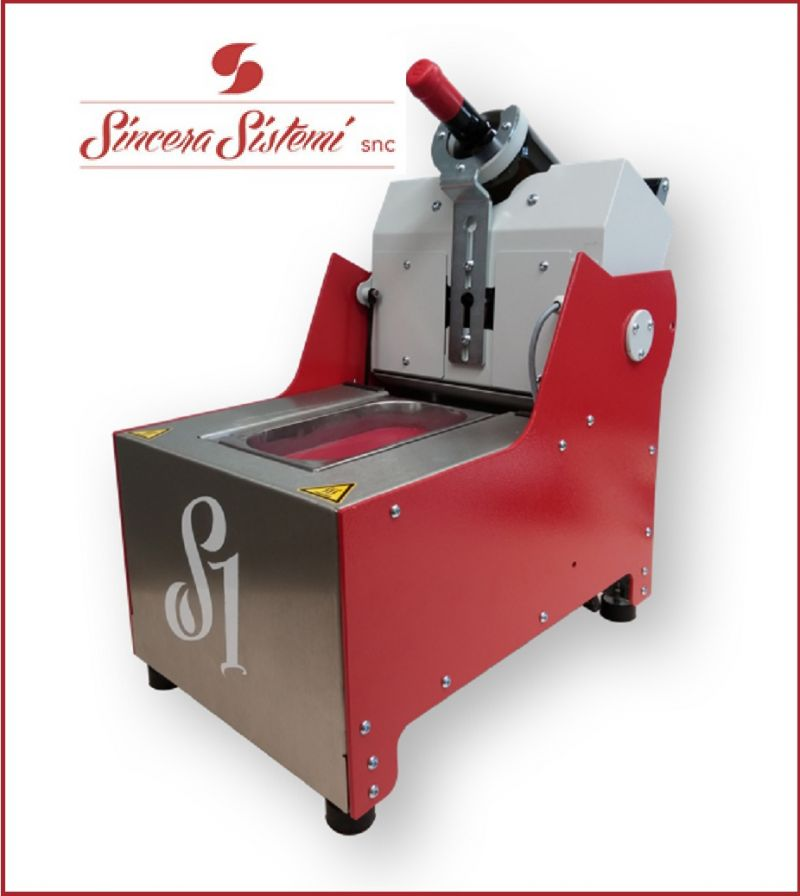 OFFER IN SALES AUTOMATIC MACHINE GOMMALACCA BOTTLES MADE IN ITALY