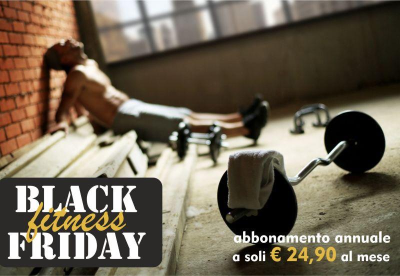 Black Friday abbonamento palestra - Promozione Abbonamento Annuale Fitness - Palestra Dynamika