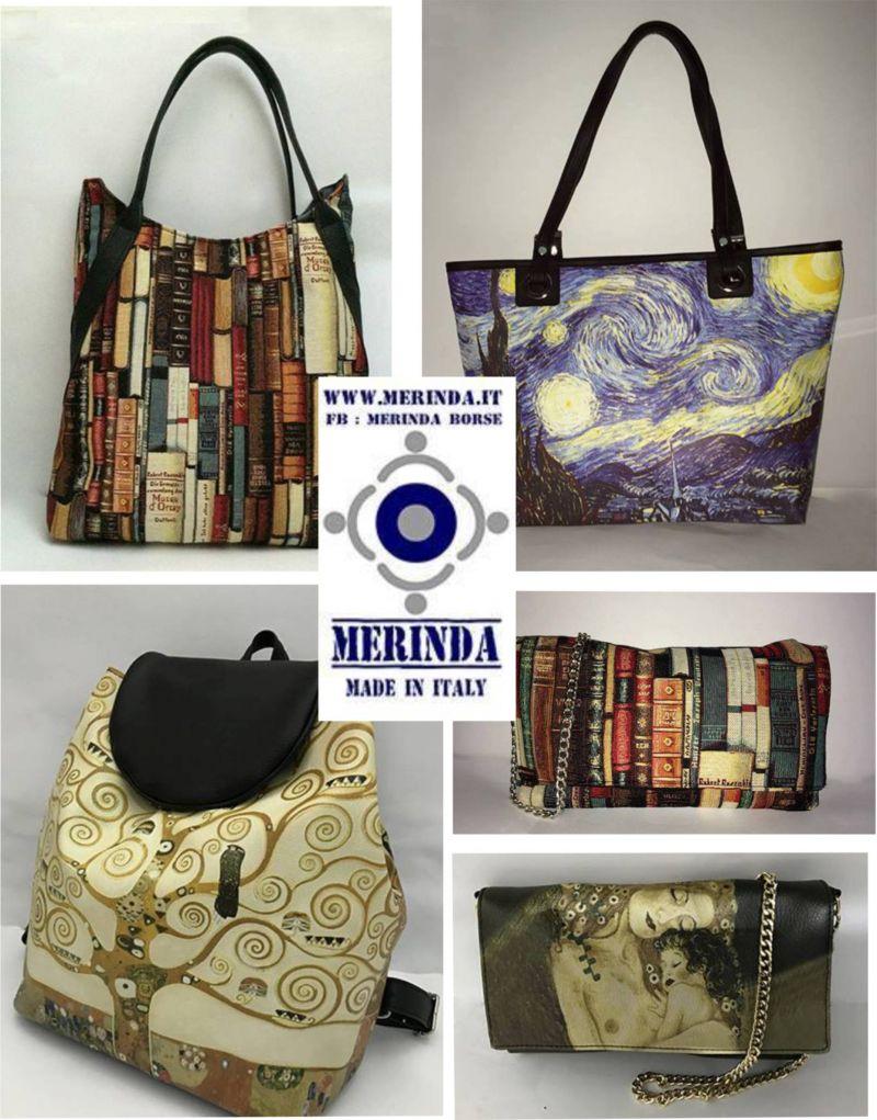 Offerta borse Van Gogh Edvard Munch NA - Offerta borse Klimt Frida Kahlo NA - Occasione borse
