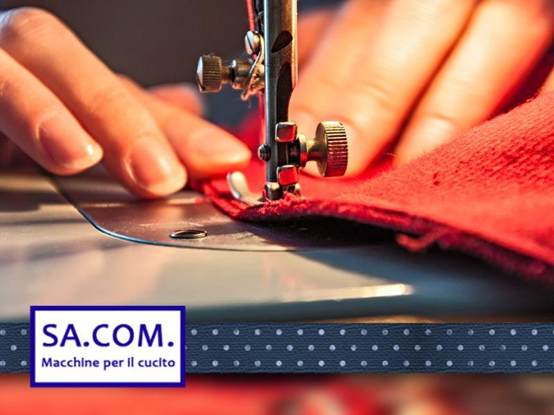 offerta macchine per cucito - promozione riparazioni maglieria - sacom macchine per cucito