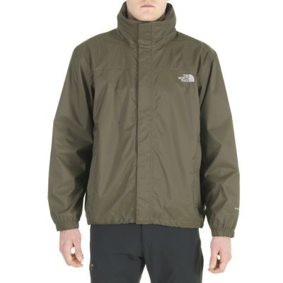 north face giubbotto resolve verde