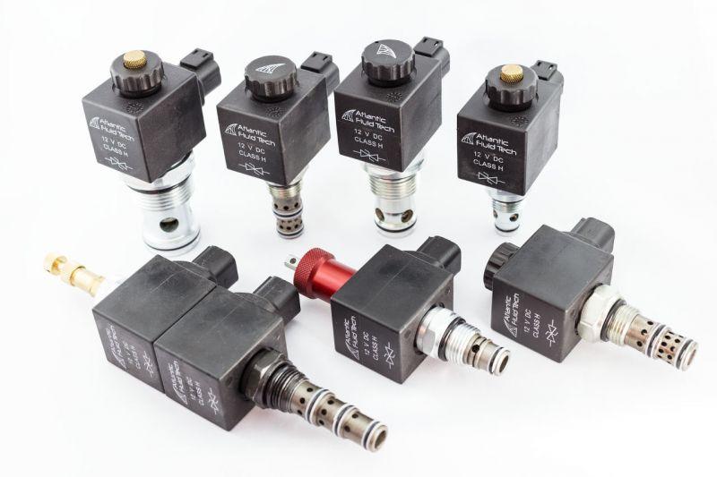 offerta valvole oleodinamiche Atlantic controllo discesa pressione - occasione valvole antiurto