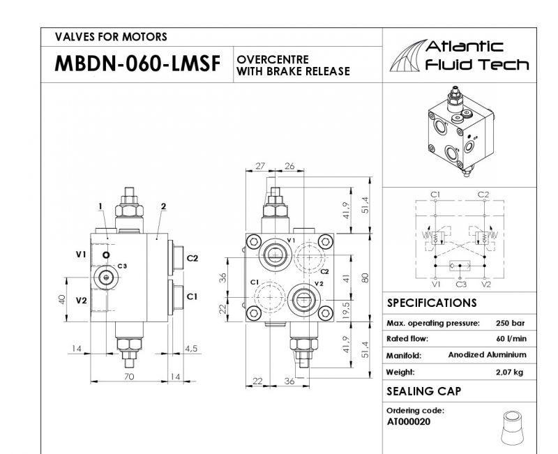 Offerta MB000208 promozione Dual counterbalance