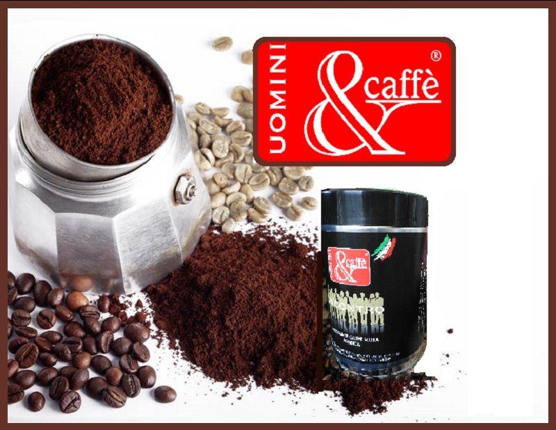 Uomini&Caffè promozione Miscela caffè Moka Arabica INCONTRO - Offerta caffè macinato arabica