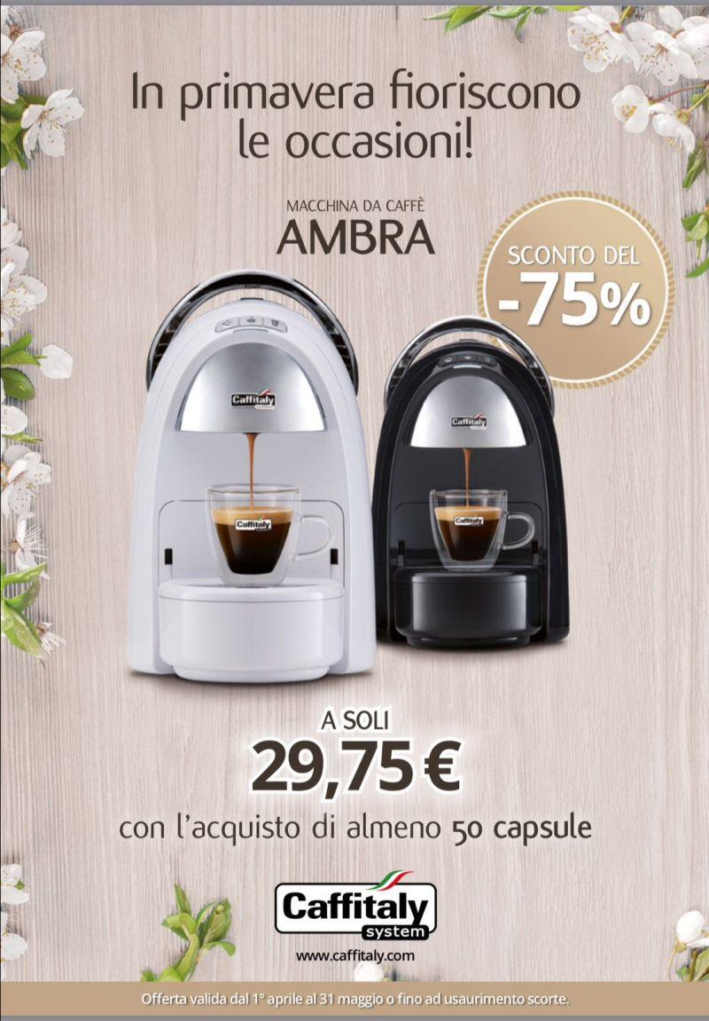 offerta macchine da caffè espresso Caffitaly - promozione macchina caffè Ambra Caffitaly