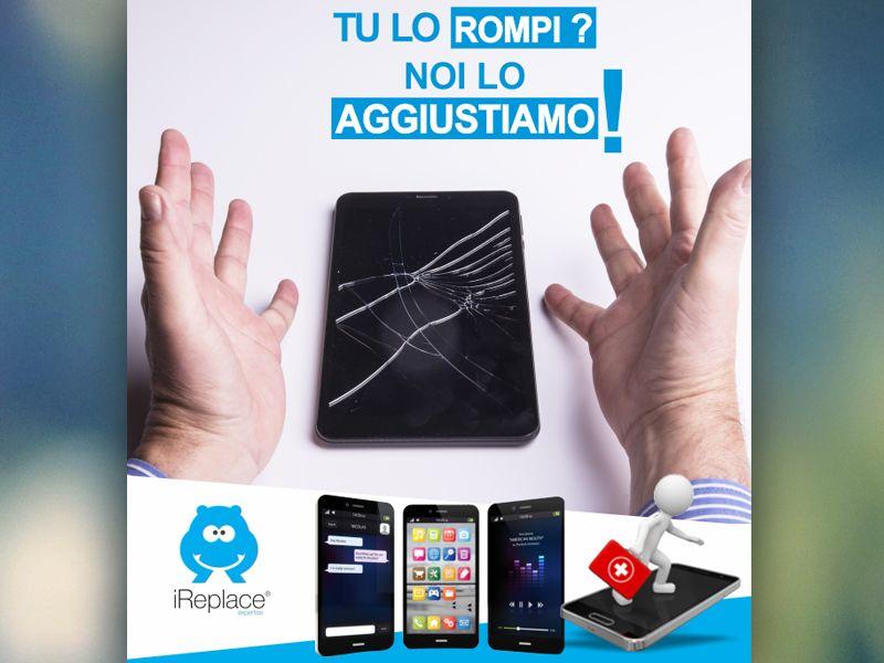 Offerta riparazione smartphone - Promozione riparazione tablet - ireplace roma nomentana