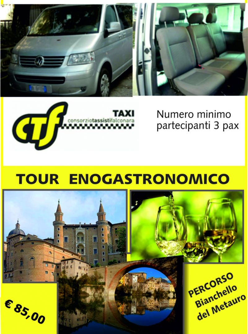 Lasciati conquistare da questo tour visitando Urbino, Fossombrone, per concludere con la degust
