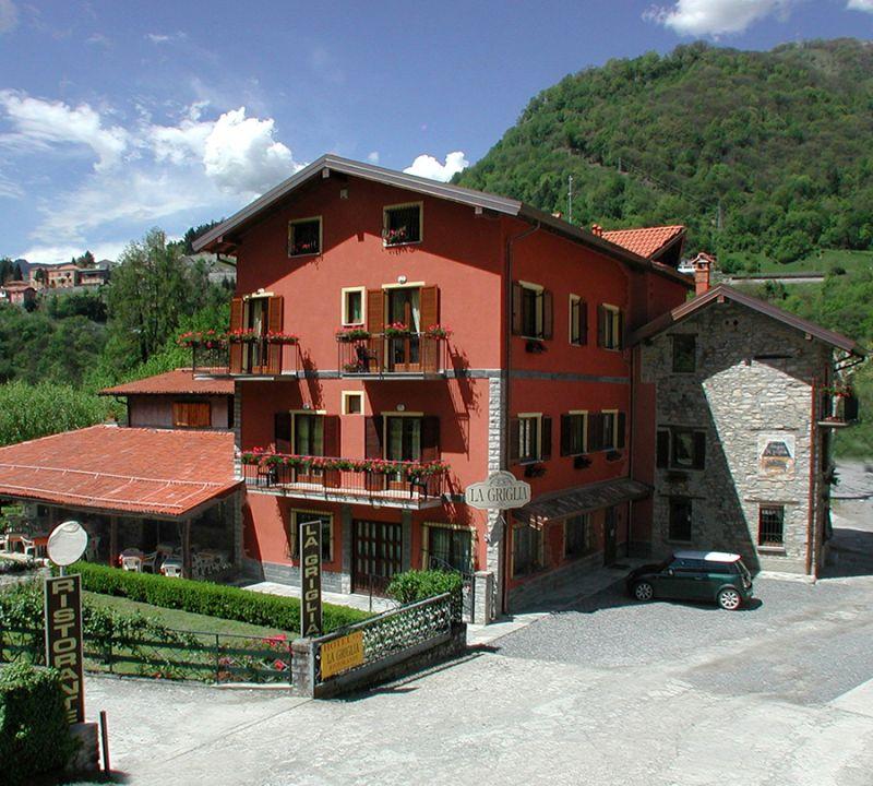 Offerta Hotel vista Lago di Como - Occasione dormire a Como Hotel Albergo La Griglia