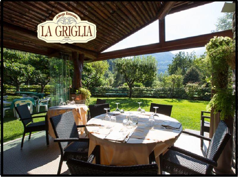 LA GRIGLIA Hotel Restaurant - Angebot der typischen, traditionellen Kueche am Comer See