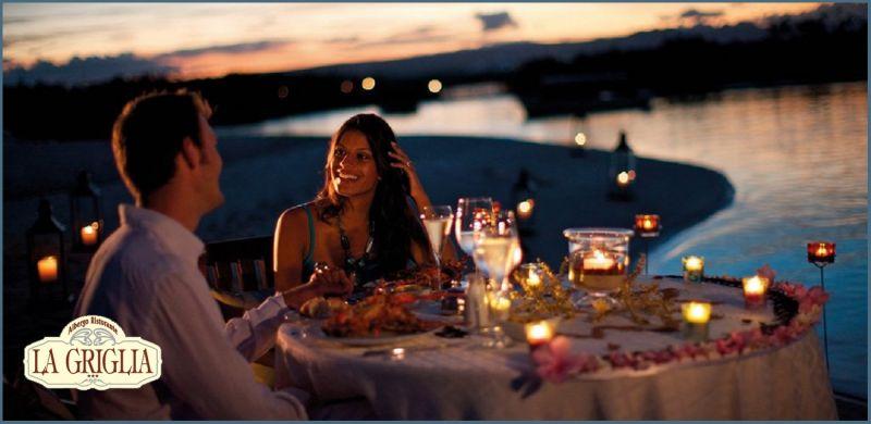 Offre dîner romantique Lac de Côme - Occasion weekend romantique Hôtel Restaurant LA GRIGLIA