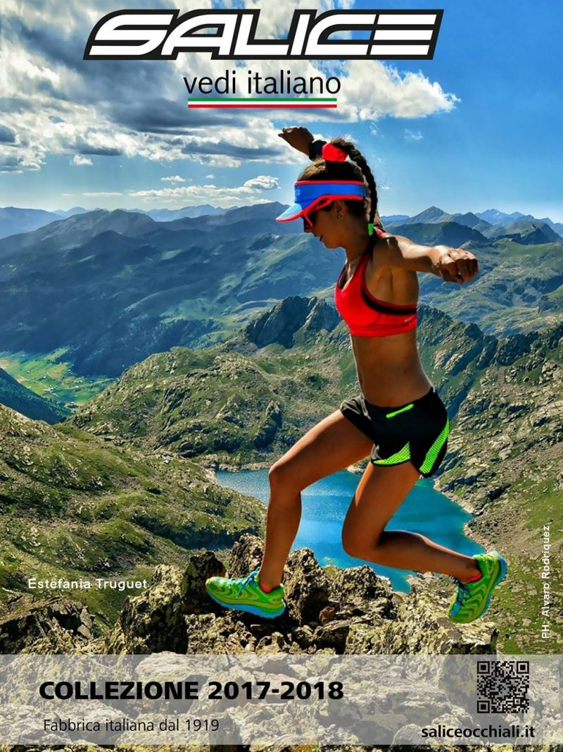 Salice occhiali made in Italy occhiale sportivo bike running