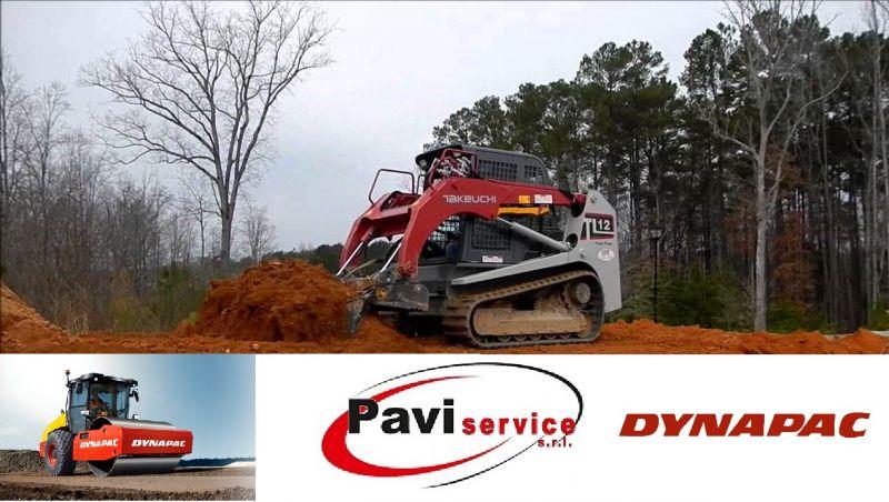 offerta riparazione noleggio scarificatrice minipala - promozione vibrofinitrice Pavi Service