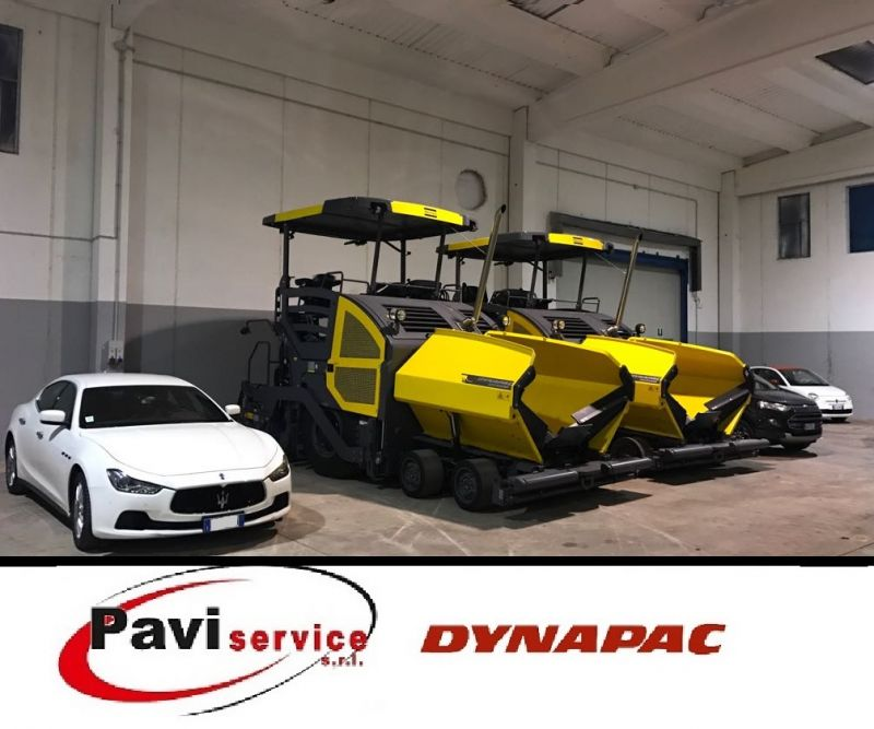 Offerta vendita usato AMMANN - Vendita usato macchine lavori stradali DYNAPAC - Paviservice SrL