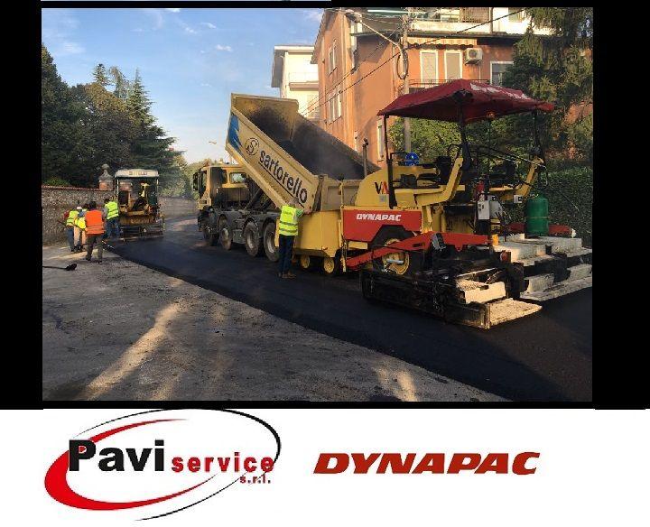 Offerta noleggio macchinari per asfaltatura - Promozione noleggio e vendita macchine Dynapac