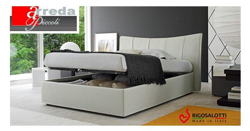 offerta letto contenitore rigosalotti - promozione letto con ripostiglio