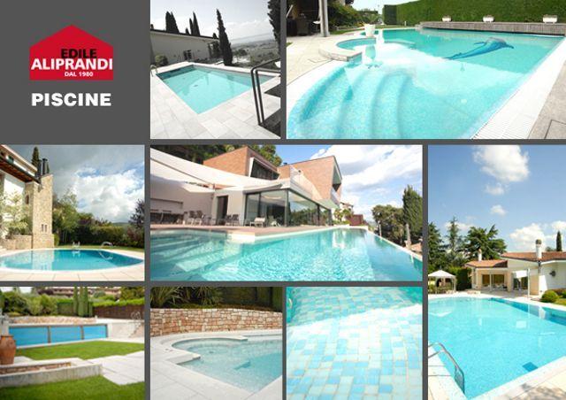 Offerta realizzazione di piscine da interno e da esterno-Promozione manutenzione piscine Verona