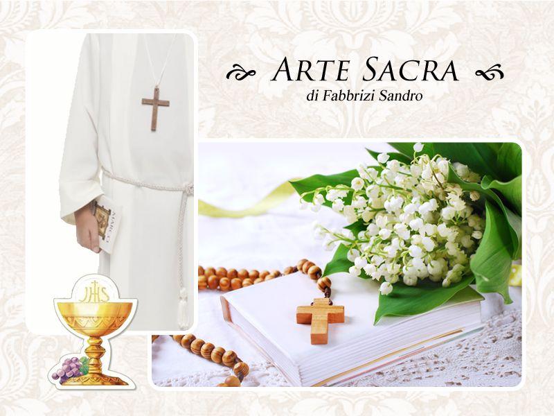 offerta tunica comunione - promozione abito cresima - arte sacra