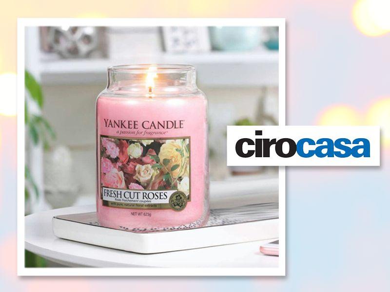 offerta candele yankee candle - occasione candele profumate - ciro casa