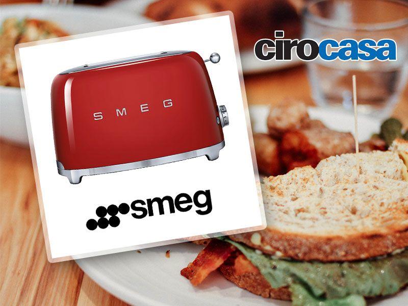 offerta tostapane smeg - promozione elettrodomestici smeg - ciro casa