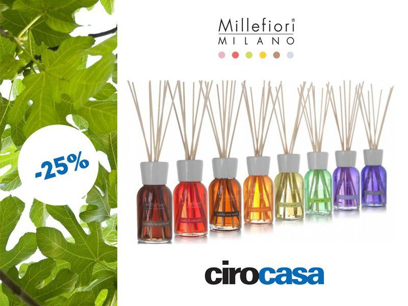 offerta profumatore ambienti millefiori - promozione nuove fragranze millefiori