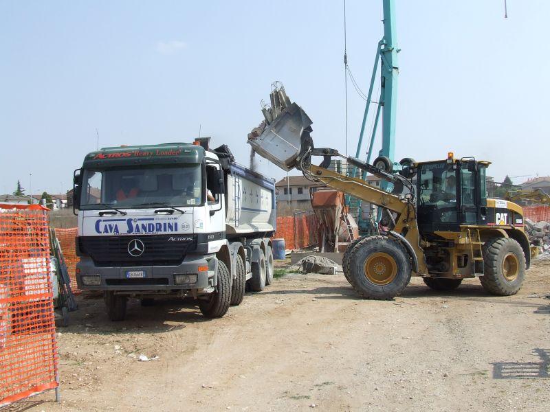 Offerta servizio escavazione - Promozione opere movimento terra Cava Sandrini Verona