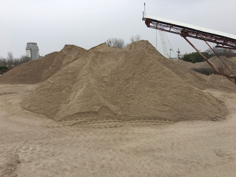 Offerta produzione di sabbia per massetti marcatura CE-Sabbia per impianti automatizzati Verona