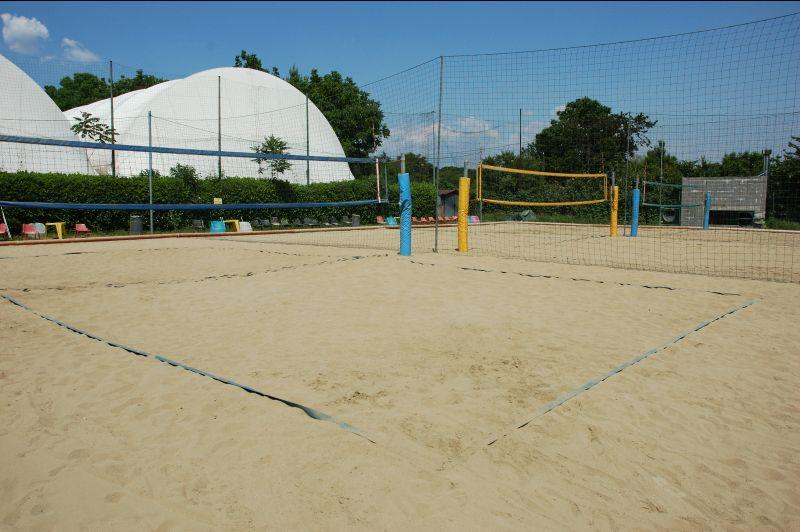 Offerta allestimenti campi da beach volley -Occasione allestimento campo da beach volley Verona