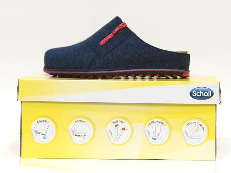 Offerta - Pantofola Scholl Spikey 3 Royal Blu