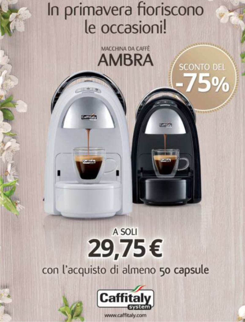 Promozione macchie per il caffè - Offerta cialde caffè