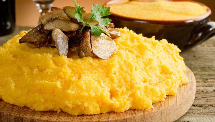 Promozione piatti tipici Veneti polenta ai funghi porcini - Offerta cucina tradizionale Veneta