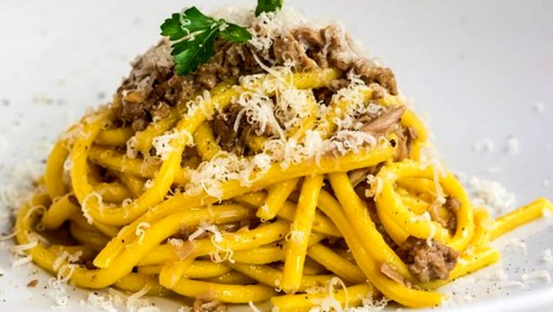 occasione piatti Veneti cucina tipica - Offerta cucina Veneta pasta fatta a mano bigoli anatra